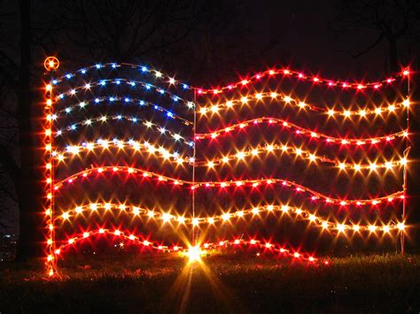 christmas at centennial park 9 u s flag lights this