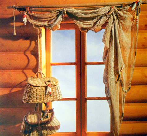 log cabin curtain ideas creative window treatment ideas