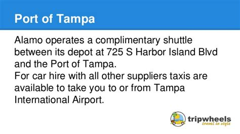 Rental Cars Port Of Miami by Car Rental Shuttles To Cruise Ports In Florida