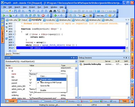 php change date format of variable php debugger