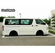 Hiace Lowered