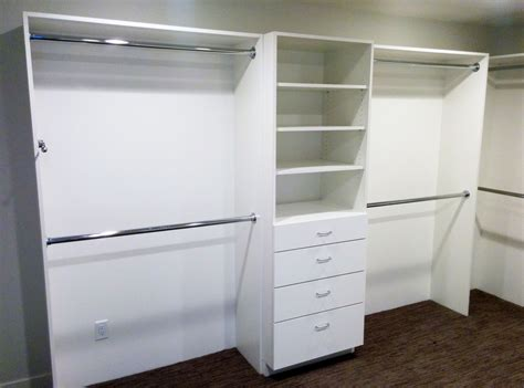 white closet shelves home design interior