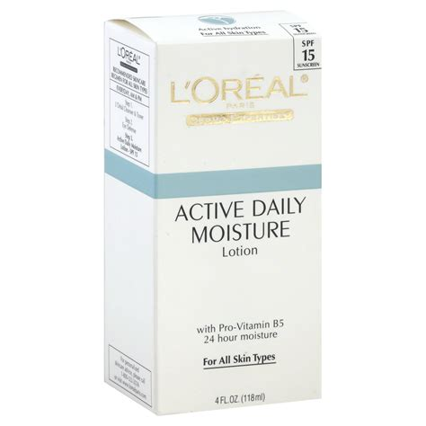 Loreal Active 50 Ml 4 Variant l oreal dermo expertise lotion active daily moisture 4 fl oz 118 ml