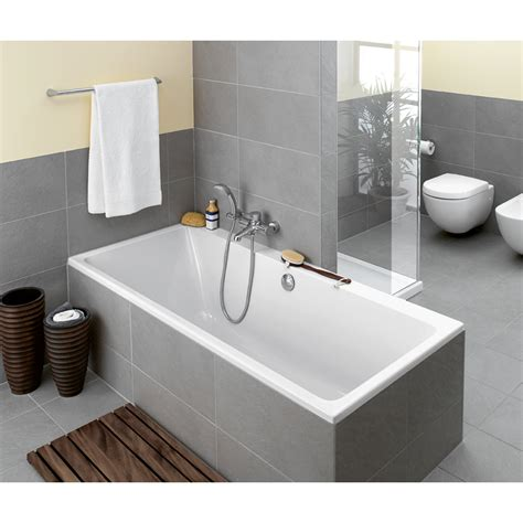 fliese 80 x 180 villeroy en boch subway bad 180x80cm acryl wit