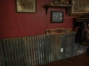 Tin Wainscoting Ideas Tin As Wainscoting With Walls Spare Room