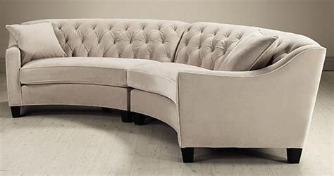 small tufted sofa riemann curved tufted sectional sofas and loveseats