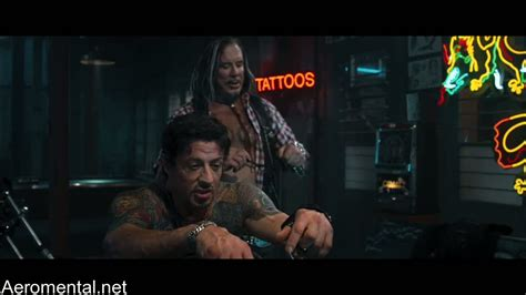 does sylvester stallone have tattoos the expendables images from the in hd