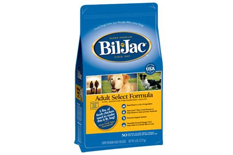 bil jac treats bil jac voluntarily recalls one batch of 6 lb select formula food petmd
