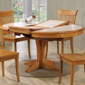 Tile Top Dining Room Tables by Dining Table With Butterfly Leaf Foter