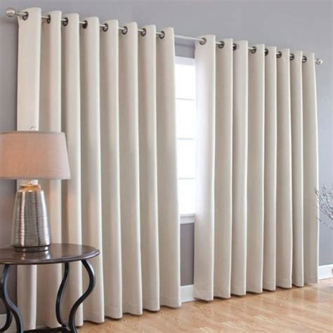wide width blackout curtains best home fashion wide width thermal insulated blackout