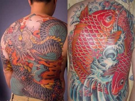 koi fish tattoo red and black red color koi fish tattoo