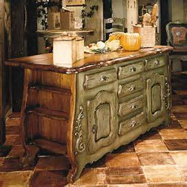 French Country Kitchen Island French Country Kitchen Islands Group Picture Image By
