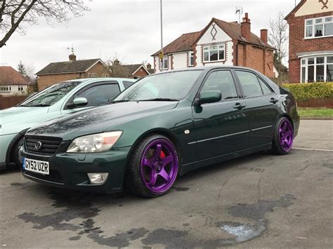modified lexus is lexus is200 modified low in glen parva leicestershire