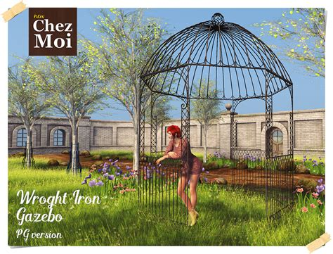 wrought iron gazebo wrought iron gazebo chez moi chez moi