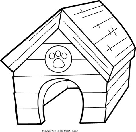 dog house outline best dog house clipart 17696 clipartion com