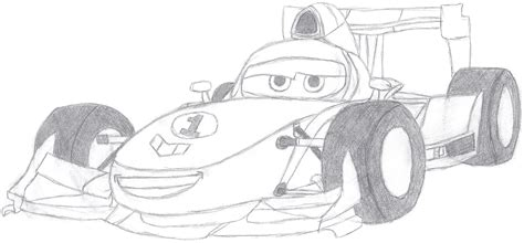 Cars 3 Sketches by Cars Francesco Sketch By Bowser The Second On Deviantart
