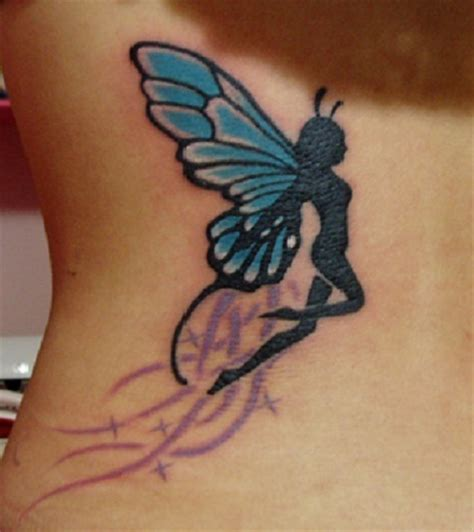 butterfly fairy tattoo pictures meaning designs