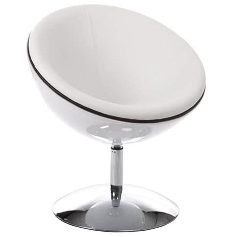 bureau boule fauteuil boule sphera blanc pivotant 360 176 fauteuil design