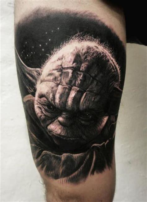 arm fantasy yoda star wars tattoo by tattoo studio 73