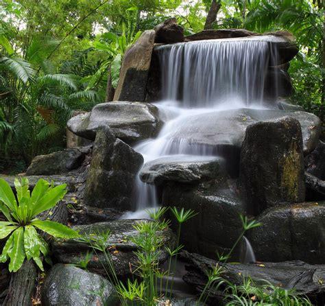 japanischer garten franken prachtige watervallen als tuinposter voor in uw tuin