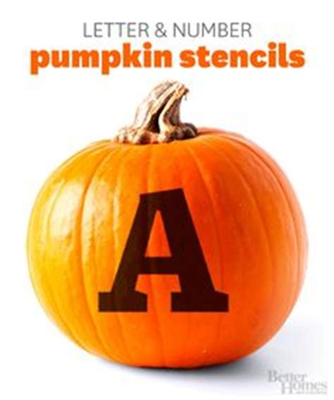 pumpkin carving letter templates scary drinks and stencils on