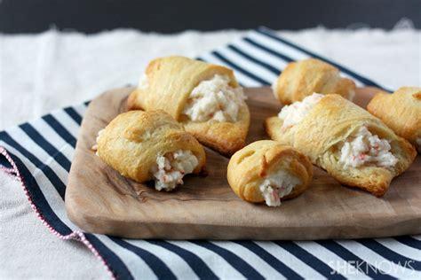 crab  cream cheese crescent rolls