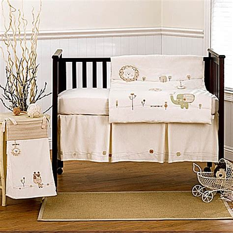 Buy Nature S Purest Sleepy Safari 4 Piece Crib Bedding Safari Crib Bedding