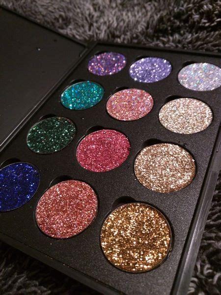 glitter eye makeup palette mugeek vidalondon