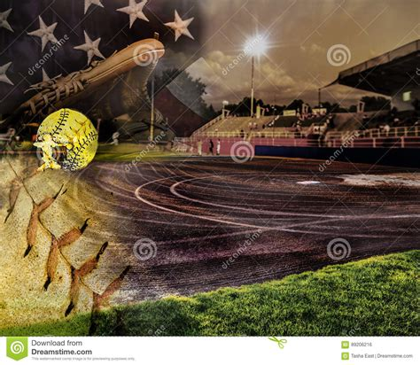 softball field stock images