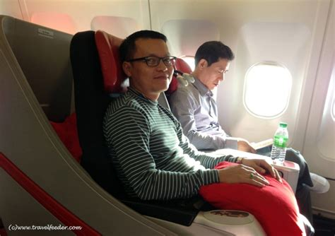 airasia first class my airasia x premium flatbed seat experience