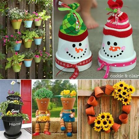 Decorating Ideas Your Clay Pots Fi5 Jpg