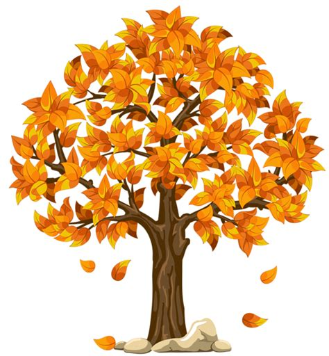 clipart autunno transparent fall orange png clipart picture planner