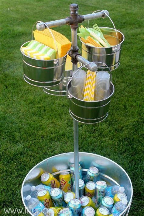 Backyard Bbq Reception Ideas by 5 Ways To Create An Outdoor Beverage Station Infarrantly