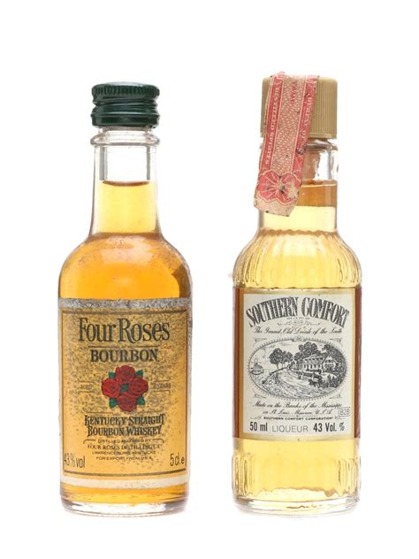 southern comfort strength four roses southern comfort lot 18785 whisky auction
