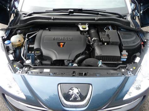 motor peugeot getestet peugeot rcz 165 hdi fap motor inside