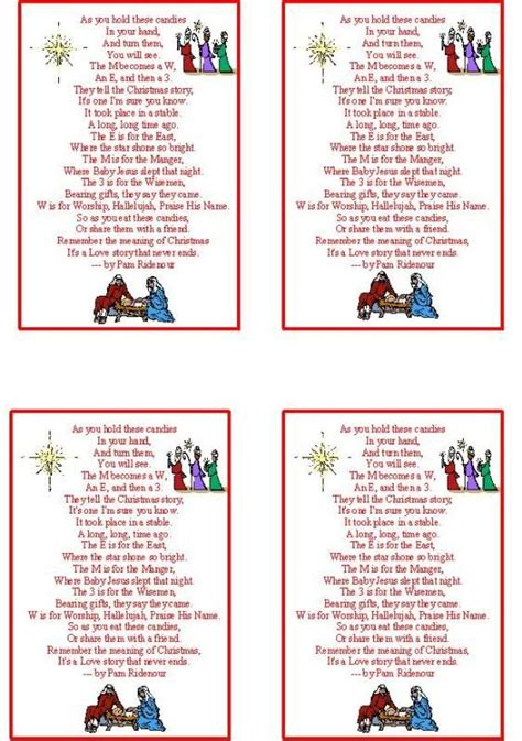 printable christmasreligious scenes to add your own poems to and print the world s catalog of ideas