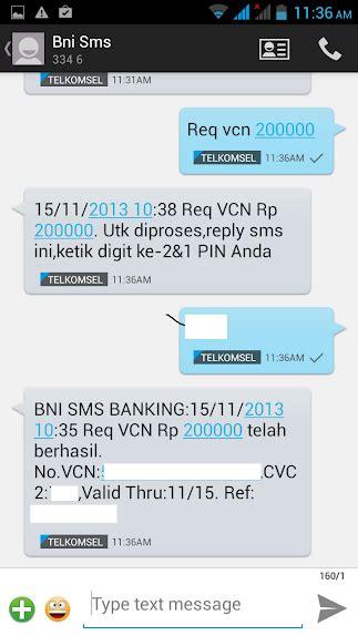 format sms banking bni kirim ke melakukan pembelian aplikasi di google play via bni sms