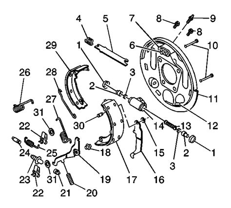 manual repair autos 1999 chevrolet cavalier regenerative braking repair instructions brake shoe replacement 1999 chevrolet cavalier cavalier sunfire vin