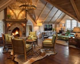 Cozy Interior Design Decor Architecture Theme english hunting lodge home design ideas renovations amp photos