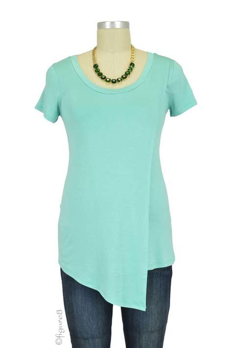 New Oversize Top Green Lonely Figure Desain Sederhana Cantik 31361 Ai liz asymmetrical cross nursing top in green by baju