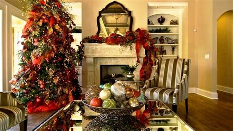 how to decorate your home for christmas inside wonderful christmas interior decorating ideas youtube