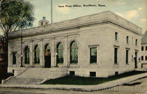 Marlboro Post Office by New Post Office Marlboro Ma Postcard