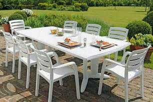 table jardin en table de jardin en r 233 sine dalgoria castorama