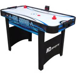 md sports 48 quot zone air powered hockey table walmart