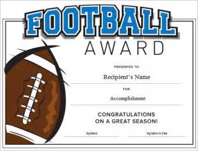 free football certificate templates football certificate template 7 documents in