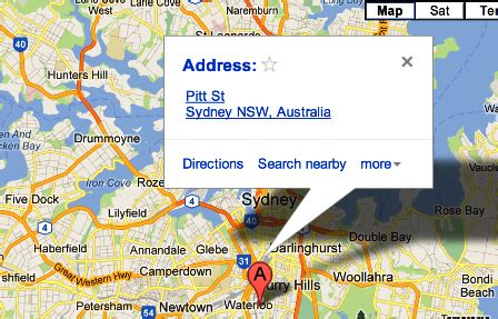 javascript show markers  google map   data