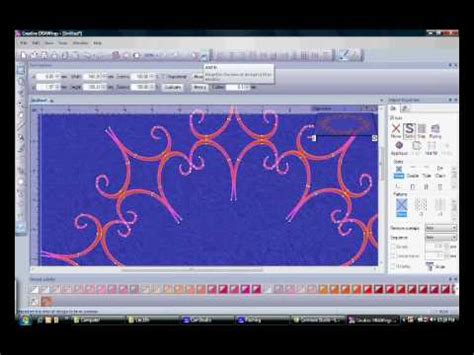 Drawings 8 Embroidery Software by Creative Drawings Embroidery Digitizing Software 5 Demo