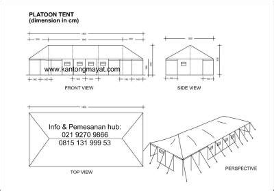 Tenda Regu Pleton 6m X 14m X 3m 4 wholesale tents bodybags hotline 0815 1319 9953