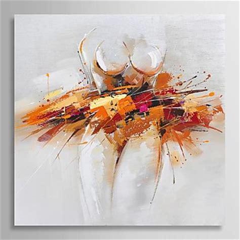 imagenes abstractas de bailarinas pintada a mano abstracto un panel lienzos pintura al 243 leo