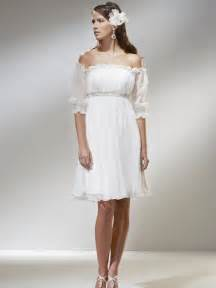 casual short wedding dresses with sleeves styles of